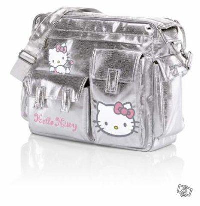 Voici le sac à langer hellio kitty acheté chez autouer de bébé pour ma puce<3