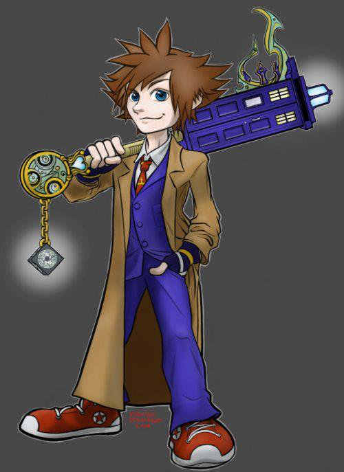 Crossover Doctor Who/ Kingdom Hearts