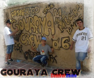 Combat Zone  / Gouraya Crew - De Retour -  Mr Alb Ft Meg'Rap Ft Déspérado (2011)