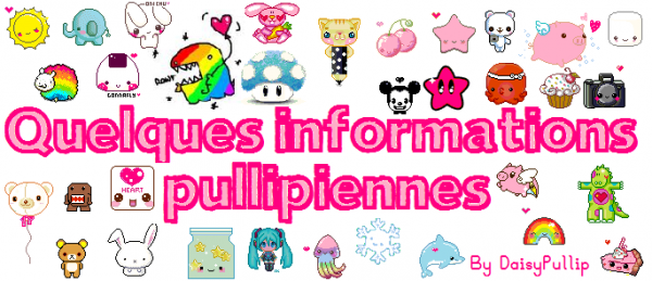♥ Quelques informations pullipiennes ♥