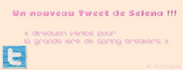 Nouveau Tweet !