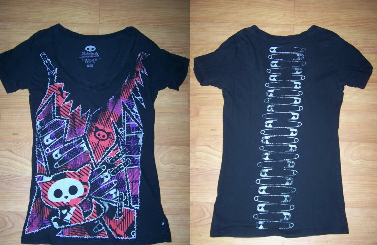 mes t-shirts skelanimals