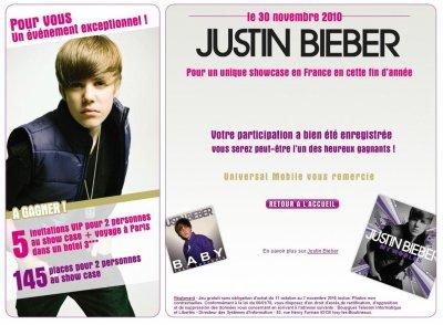 Justin à Planet Lazer ( dsl pour la qualité des images ) + Justin sera en France le 30 novembre pour un showcase