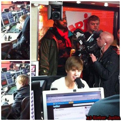 Justin sur NRJ ................................................   Pose lui des question ICI