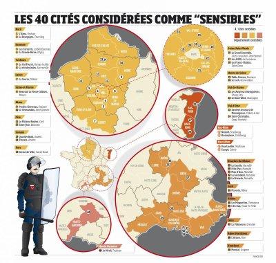 Les     40     Quartiers     Les     Plus     Difficiles          : La    Vie     Dans     Des     Cités    Les     Plus     Dures