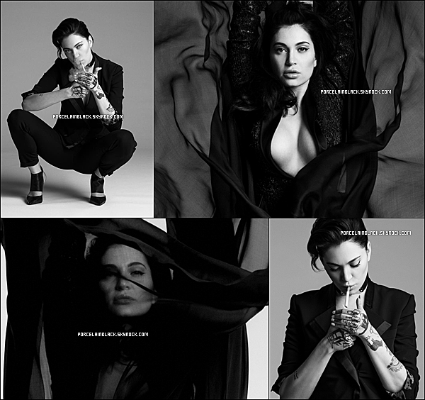 . Photoshoot: Photoshoot pour la pochette du single One Woman Army .