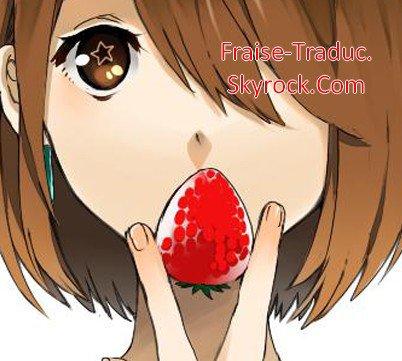 blog de fraise traduc traduction scans mangas. Black Bedroom Furniture Sets. Home Design Ideas