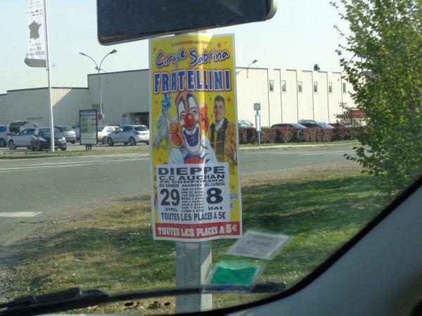 Affiches de cirque
