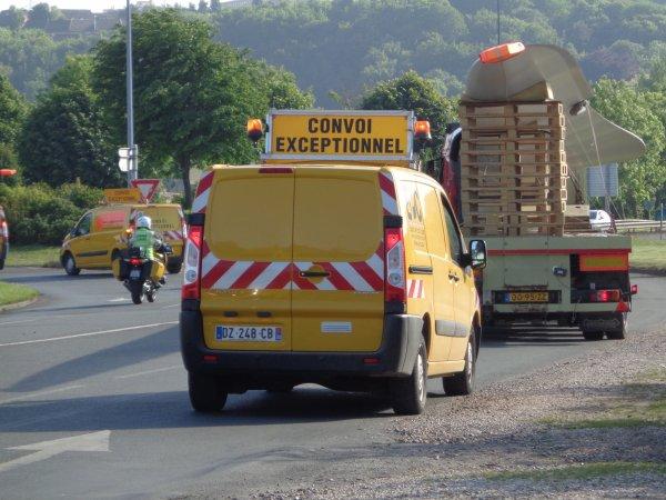 Convoi capelle depart de dieppe