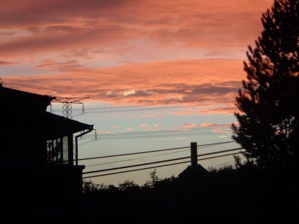 Les couleurs du ciel en cette fin juillet