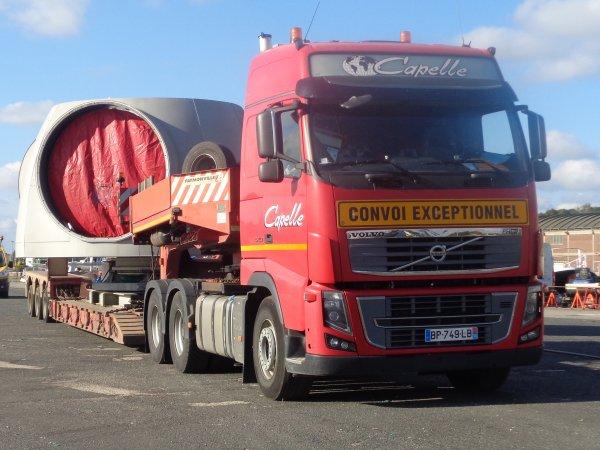 Convoi capelle -  depart de dieppe