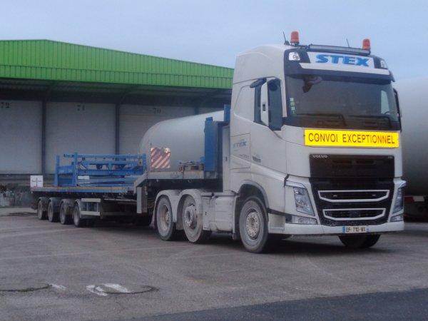 Volvo convoi exceptionnel