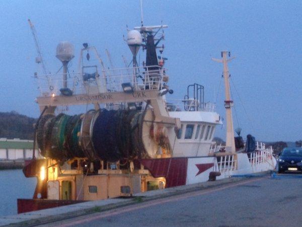 Bateau etranger - port de dieppe