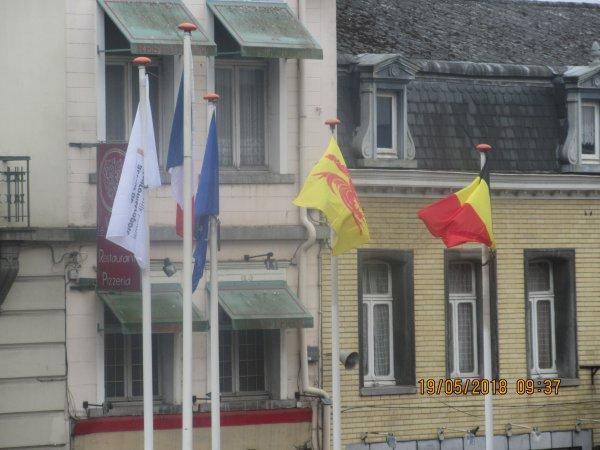 journee en belgique + reconstitution militaire+police fluviale