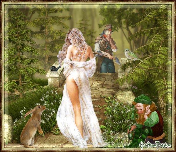 la belle en forêt