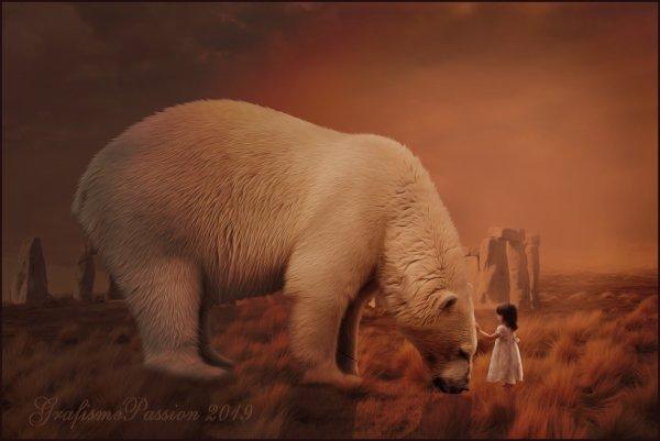 ours en détresse
