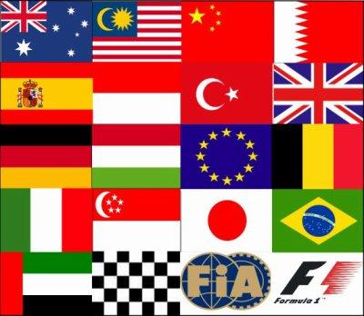 F1 : Calendrier de la saison 2011
