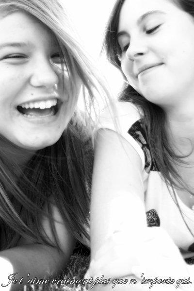 Ma Meilleure Amie ; C'est la plus Jolie :3 ♥