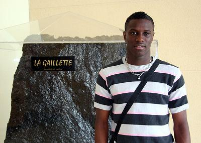 razak Boukari numéro 7 du Racing Club de Lens