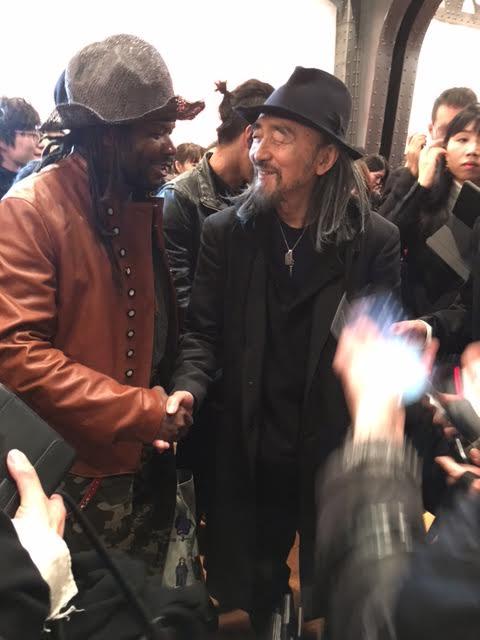 Quand j'ai rencontré Yohji Yamamoto, le grand créateur de mode.