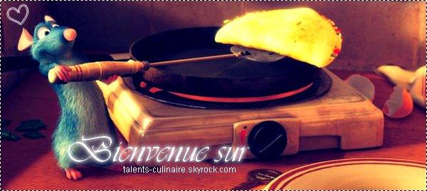 _________« Blog de recettes de cuisine ♥ » __ARTICLE .01. : Bienvenue sur Tαlent-culinαire.skyrock.com