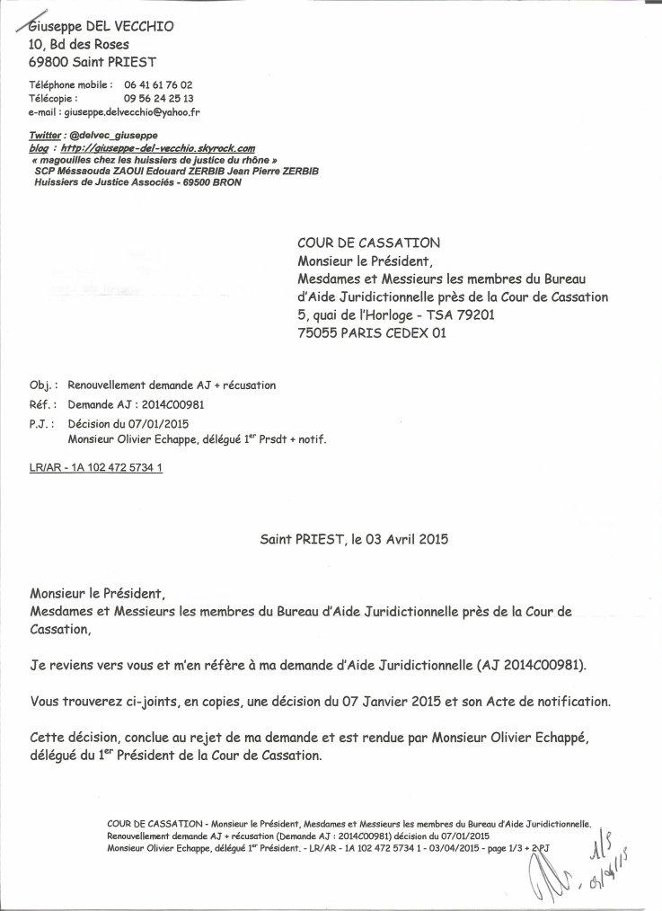 Monsieur le pr sident mesdames et messieurs les membres - Bureau d aide juridictionnelle marseille ...