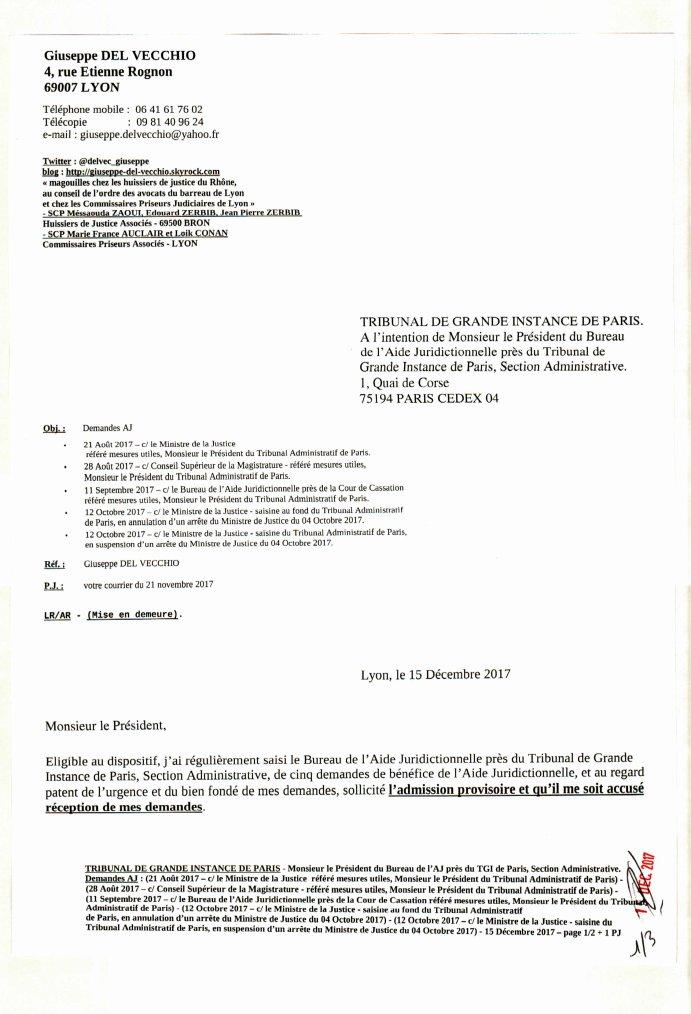 Bureau D Aide Juridictionnelle Paris