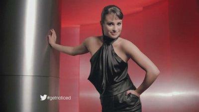 Lea Michele fait une pub pour l'oreal