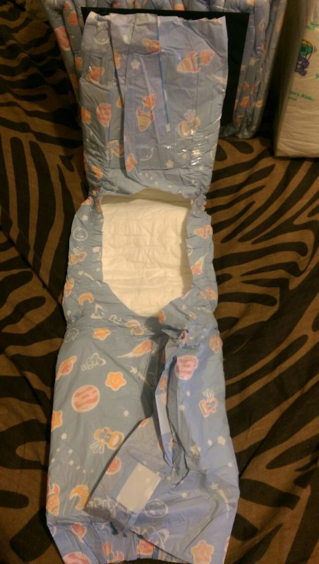 Abu space diaper et dry kids
