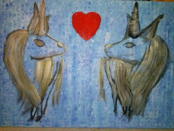 couple licorne