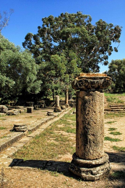 Tipaza.ruines romaines - Algeria