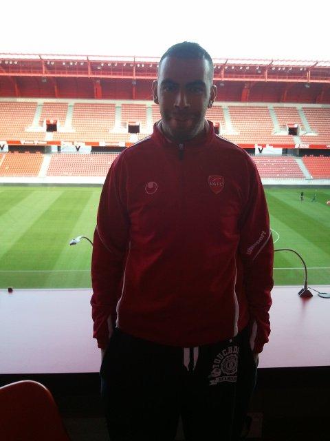 Farid Kada Rabah au stade de Valenciennes