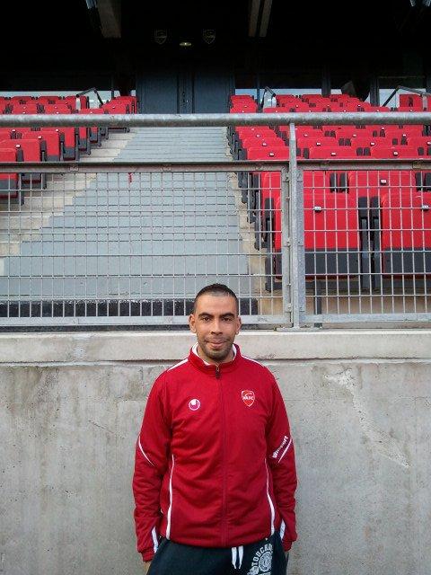 Farids Kada Rabah au stade du hainaut