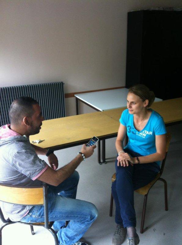 Farid Kada Rabah interview Camille Lewandoski