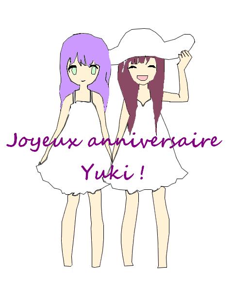 22 octobre, joyeux anniversaire Yukito-chan ! ~