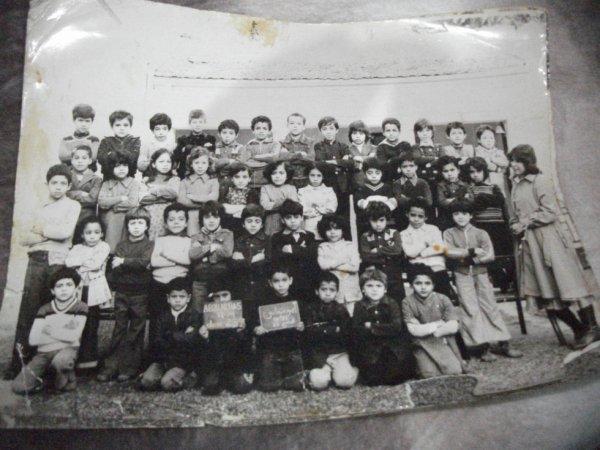 souvenir de l'école primaire j'avais 7 ans