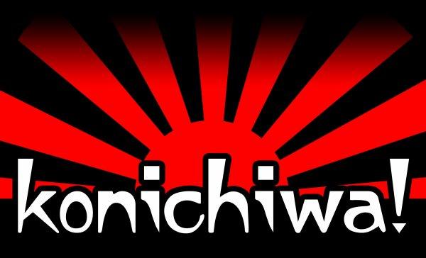 KONICHIWA ! (BONJOUR !)