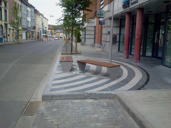 Aménagement des espaces publics louvièrois