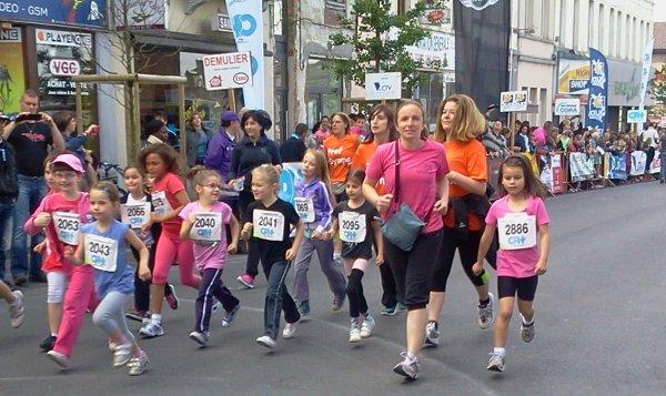 JOGGING  DES ESPOIRS LA LOUVIERE 2013