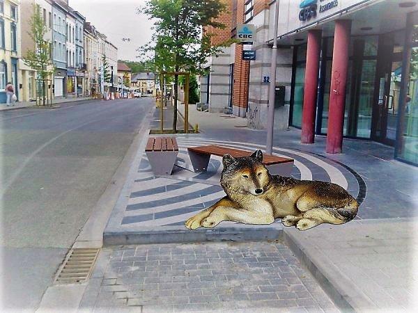 LA LOUVIERE- cité des loups