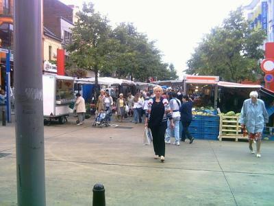 marché place Mansart