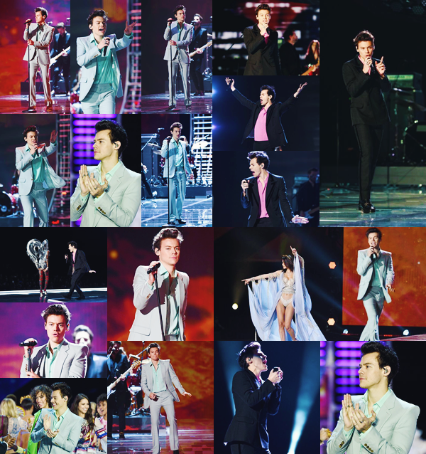 20.11 | Harry Styles performant au «Victoria's Secret Fashion Show» à Shanghai - CH.