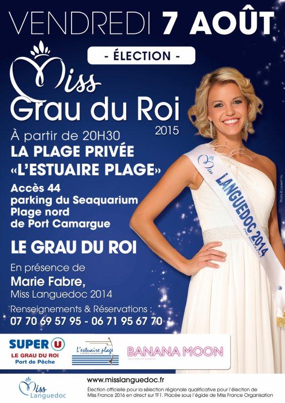 Election - Miss Grau du Roi 2015