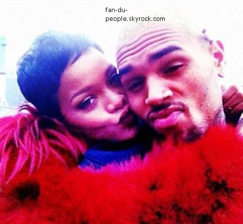 karruechetran.chris brow et rihanna aucne disccussion possible