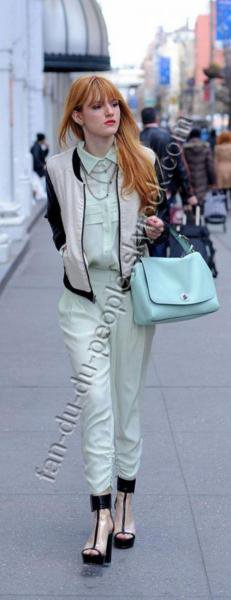 bella thorne a new york....