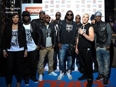 Sexion d assaut au TRACE MUSIC AWARDS: