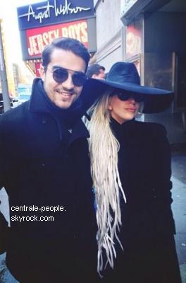 Après avoir été invisible quelques temps, c'est sans surprise que Lady Gaga a été repérée à New York