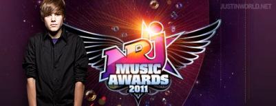 voter pour JUSTIN BIEBER POUR LES NRJ MUSIC AWARDS 2011...URGENT !!!