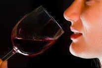 Algumas gotas de vinho***quelques gouttes de vin
