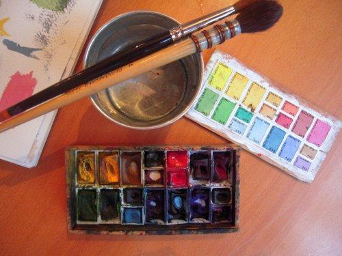 Pintar-te***Te peindre